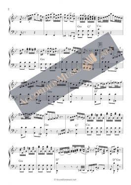 La Cumparsita – accordion sheet music - page 2